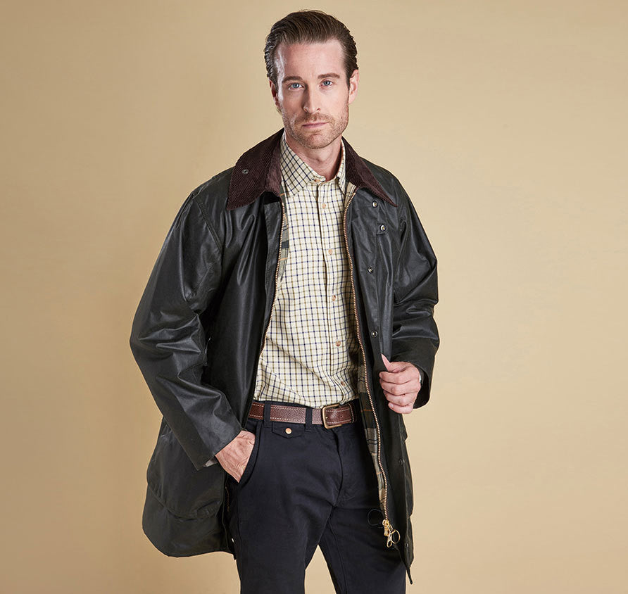 Barbour Border Waxed Jacket