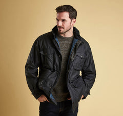 Barbour Newcastle Waxed Jacket - North Shore Saddlery