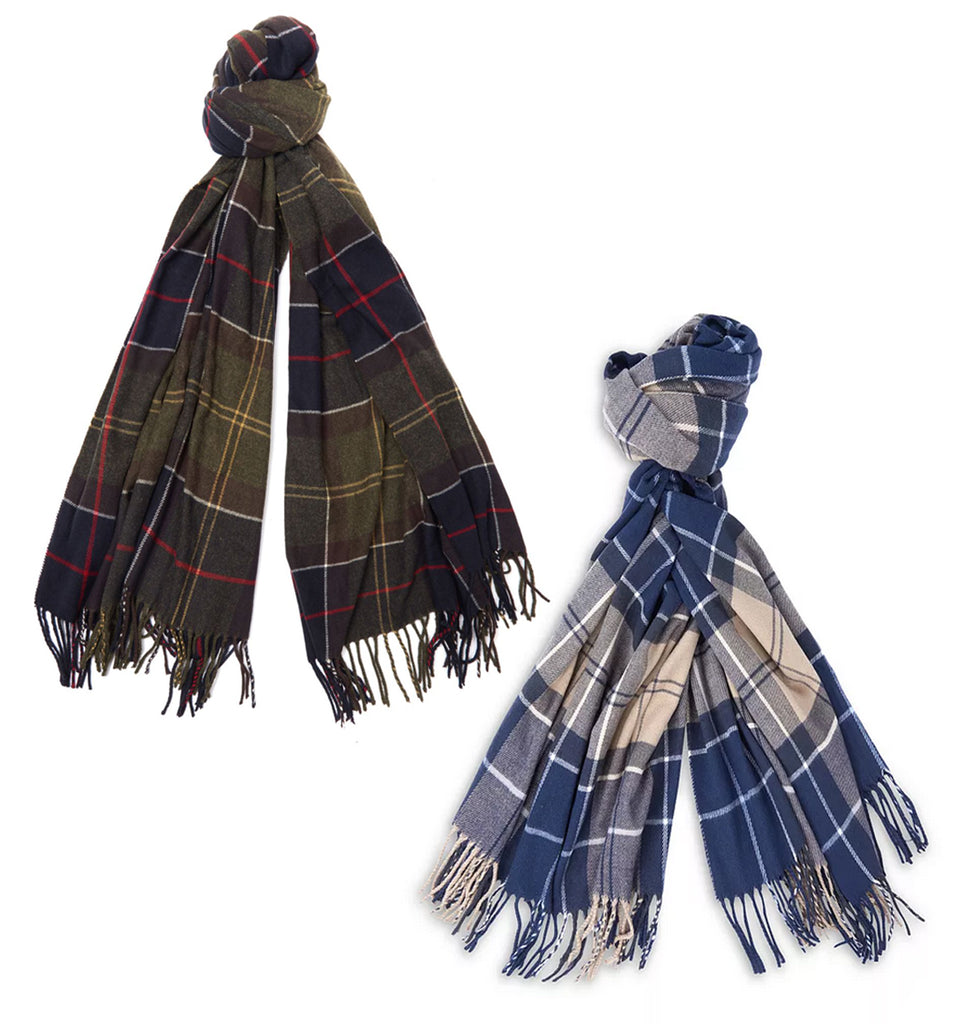 Barbour Hailes Tartan Wrap Scarf - SALE
