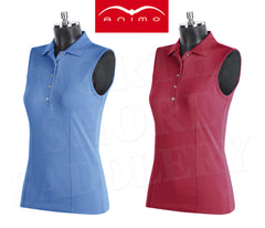 Animo Brandy Sleeveless Competition Polo - North Shore Saddlery