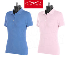 Animo Biarritz Short Sleeve Competition Polo - SALE - North Shore Saddlery