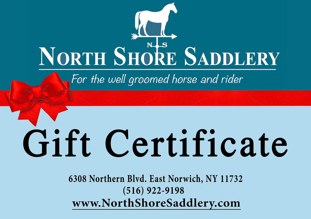 Gift Certificate to North Shore Saddlery
