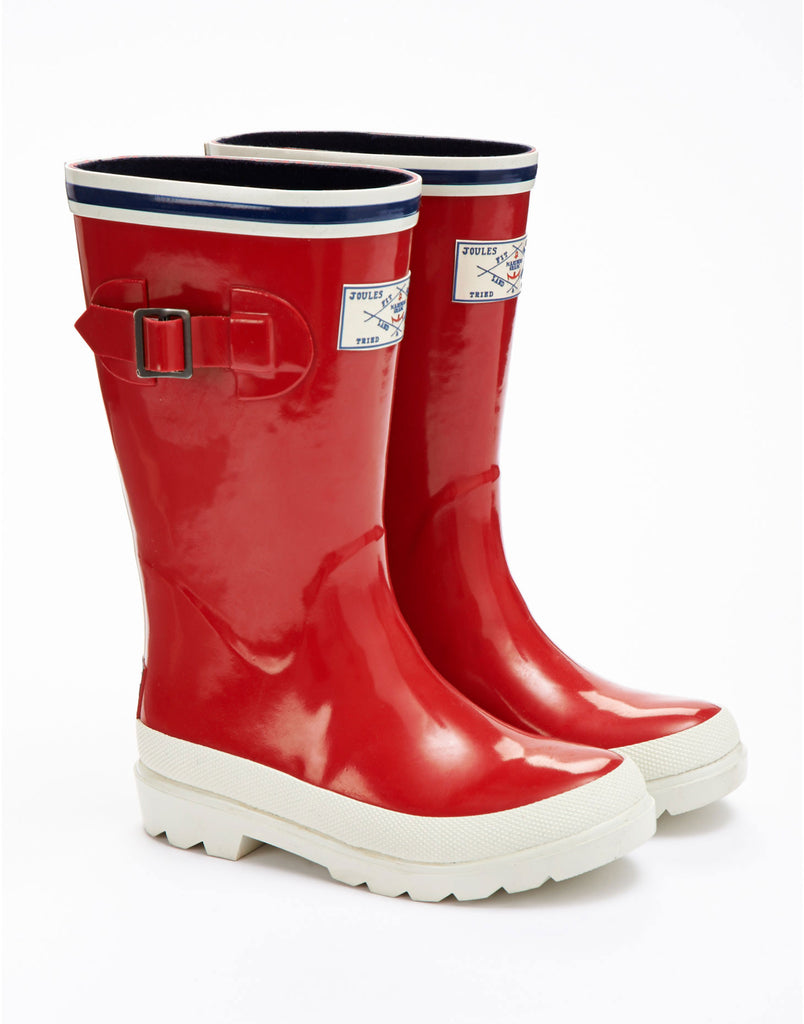 Joules Children's Seafarer Nautical Welly Boots - SALE