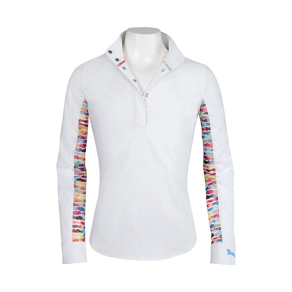RJ Classics Lauren Junior Girl's Show Shirt - North Shore Saddlery