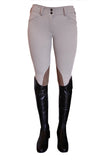 RJ Classics Gulf Low Rise Front Zip Euroseat Breech - North Shore Saddlery