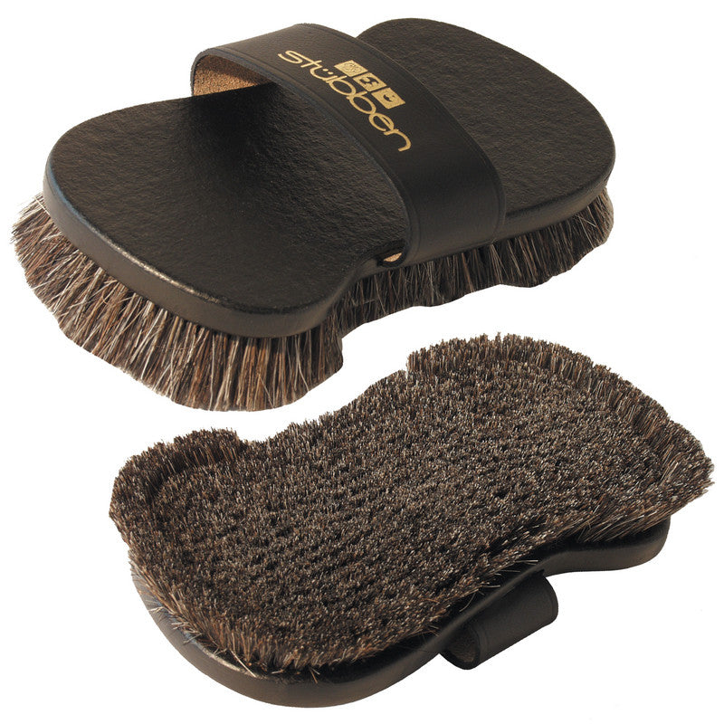 Stubben Flex Leather Back Boar Bristle Brush