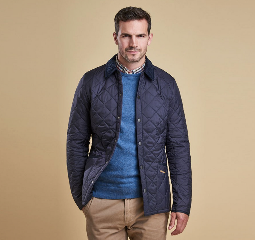 Barbour Heritage Liddesdale Mens Quilted Jacket