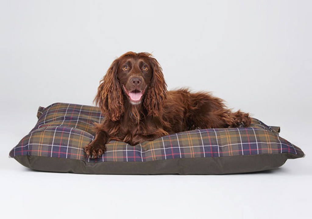 Barbour Wax Cotton Dog Duvet