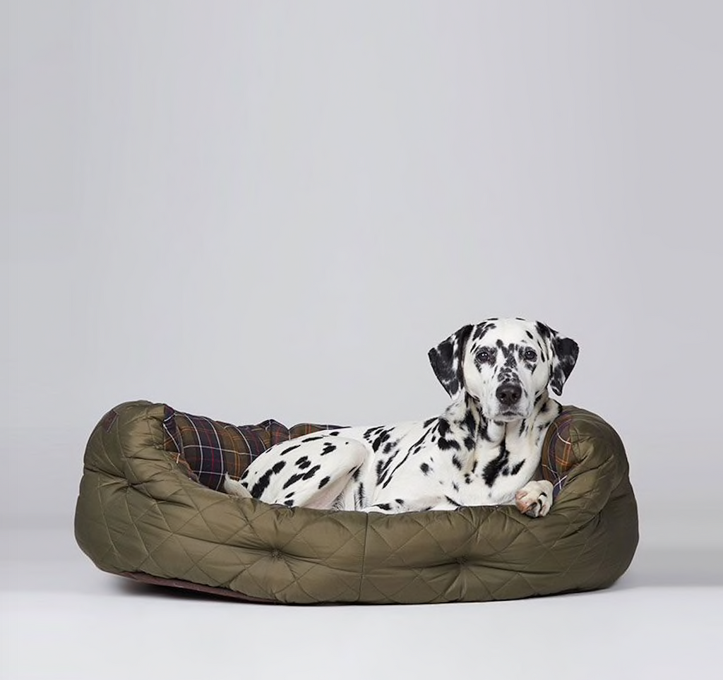 Barbour Quilted Dog Bed - Extra Large 35""