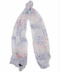 Barbour Shoaling Fish Wrap Scarf - North Shore Saddlery