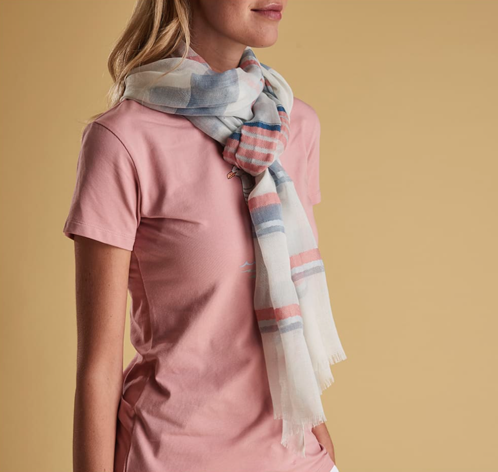 Barbour Two Tone Wrap Scarf - SALE