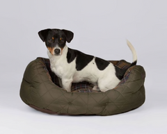 "Barbour Quilted Dog Bed - Medium 24"" - North Shore Saddlery"