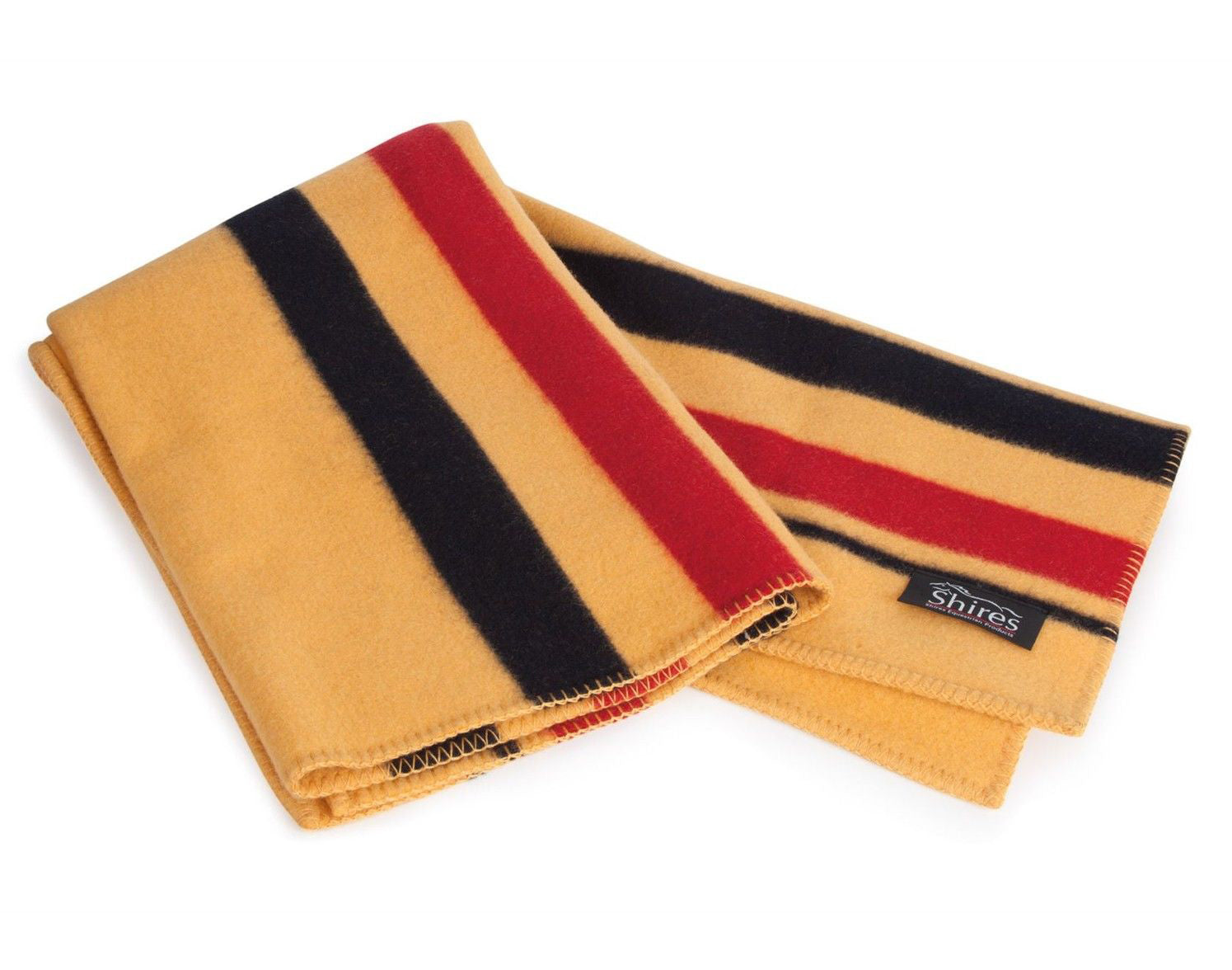 Shires Newmarket Witney Square Wool Blanket - North Shore Saddlery
