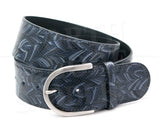 Tailored Sportsman Grey Matter Leather Belt - North Shore Saddlery