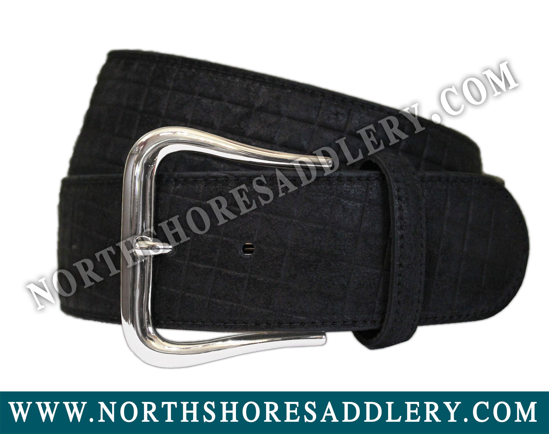 Tailored Sportsman Mini Me Suede Belt - North Shore Saddlery