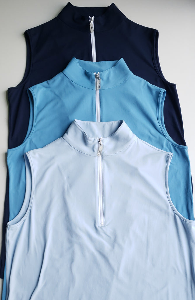 Tailored Sportsman ICEFIL Sleeveless Zip Top