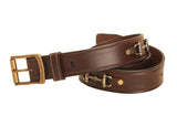 "Tory Leather 1 1/2""  Snaffle Bit Leather Belt"