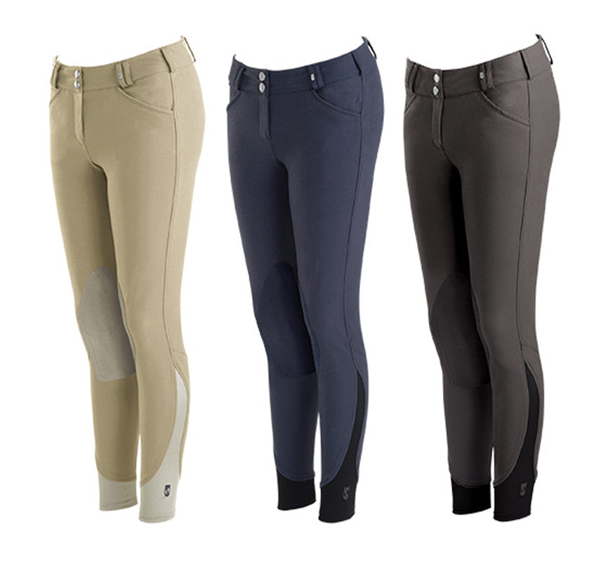 Tredstep Symphony Nero Knee Patch Breech - SALE