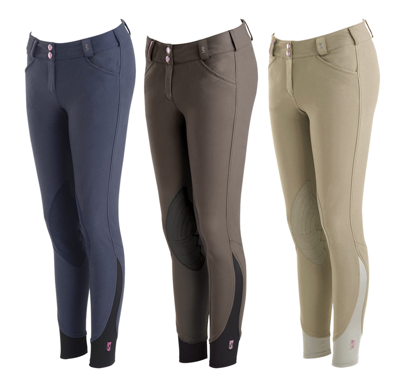 Tredstep Symphony Rosa Knee Patch Breech - SALE