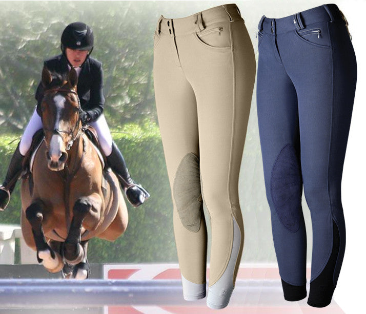 Tredstep Solo Competition Knee Patch Breech - SALE