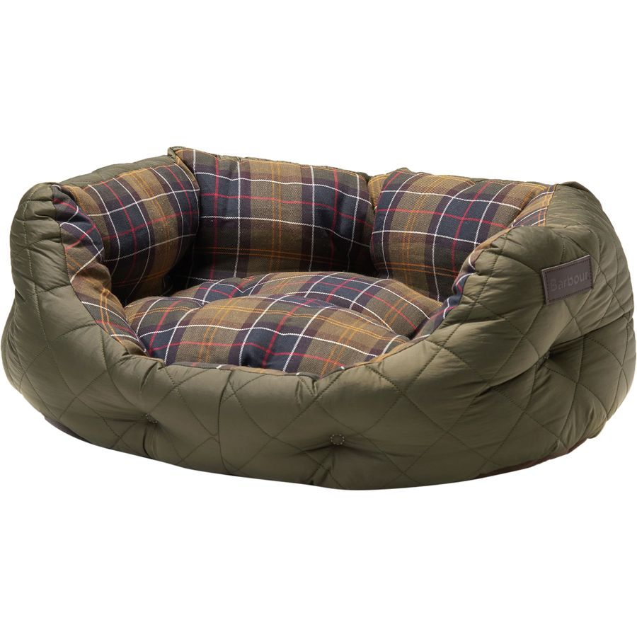 "Barbour Quilted Dog Bed - Large 30"" - North Shore Saddlery"