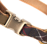 Barbour Tartan Webbing Adjustable Dog Collar - North Shore Saddlery