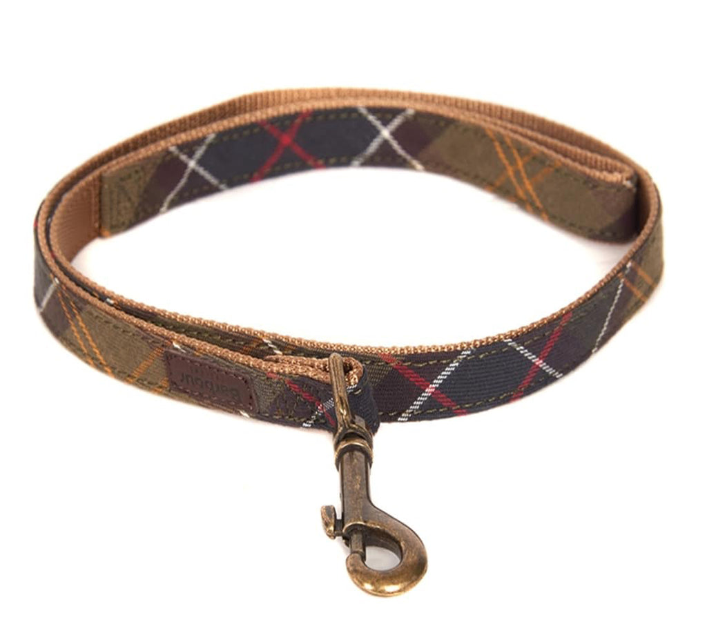 Barbour Tartan Webbing Dog Leash