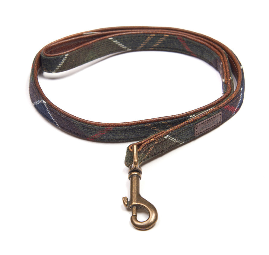 Barbour Wool Touch Tartan Dog Leash