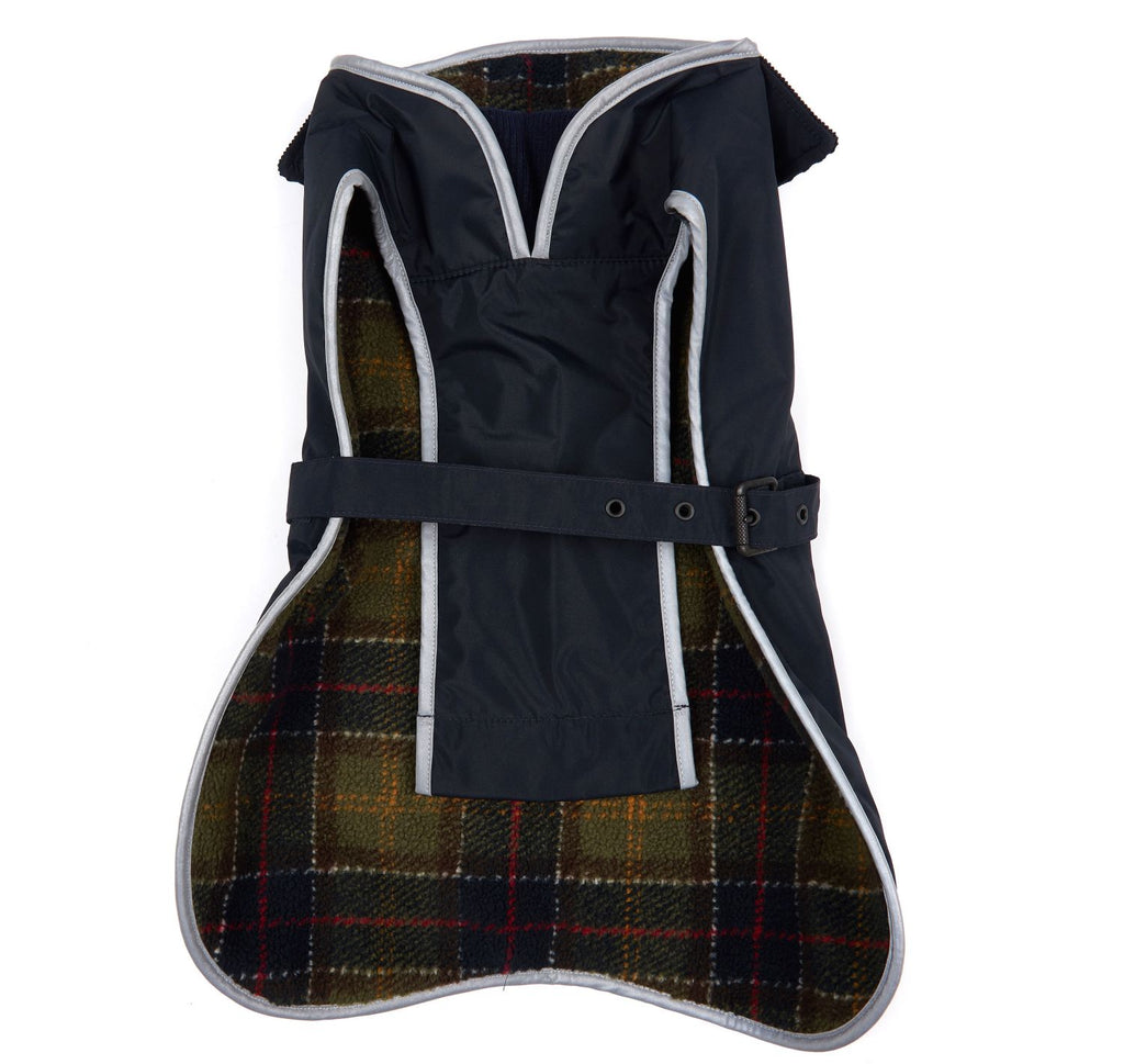 Barbour Tartan Fleece Lined Dog Coat