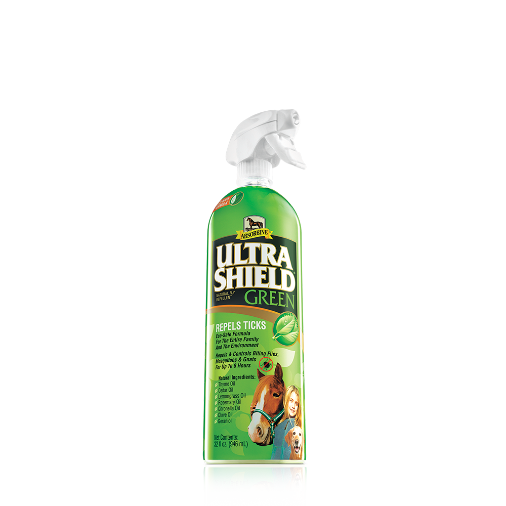 UltraShield Green Natural Fly Repellent - North Shore Saddlery