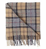 Barbour Tartan Lambswool Scarf - Dress Tartan - North Shore Saddlery