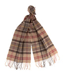 Barbour Tartan Lambswool Scarf - Muted