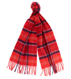 Barbour Merino Cashmere Cardinal Tartan Scarf - North Shore Saddlery