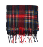 Barbour New Check Tartan Scarf - Black Stewart - North Shore Saddlery
