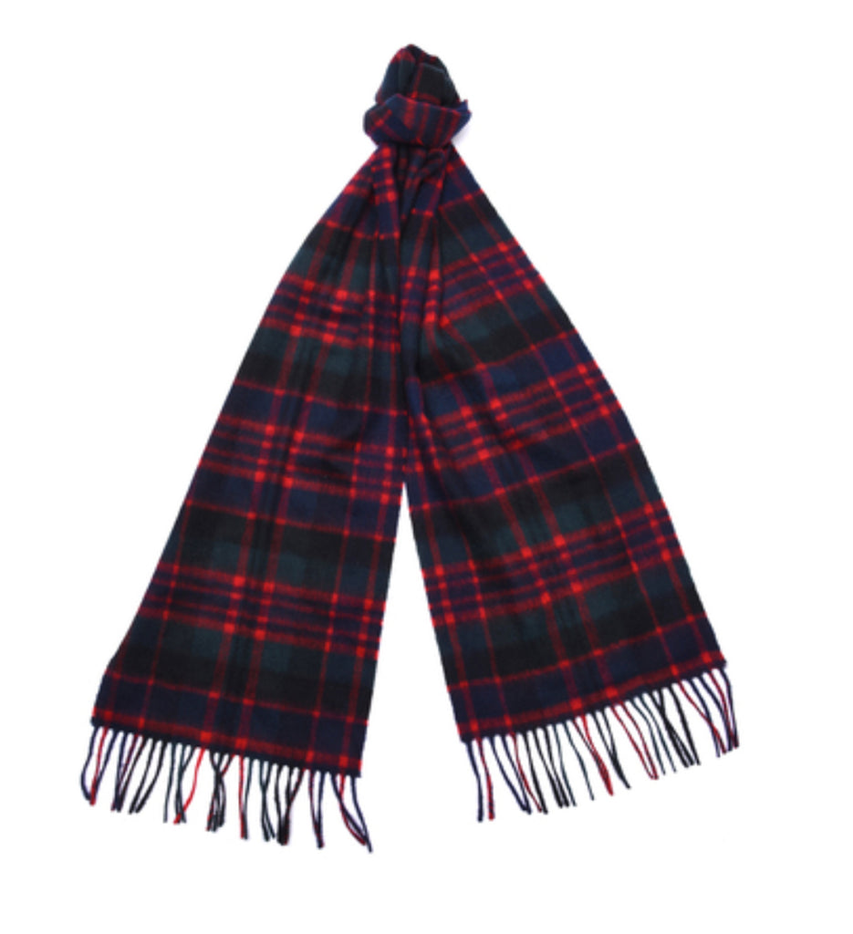 Barbour New Check Tartan Scarf - Macdonald