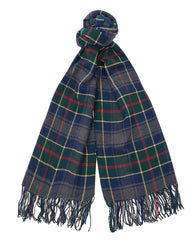 Barbour Fulmar Scarf - Blue Check