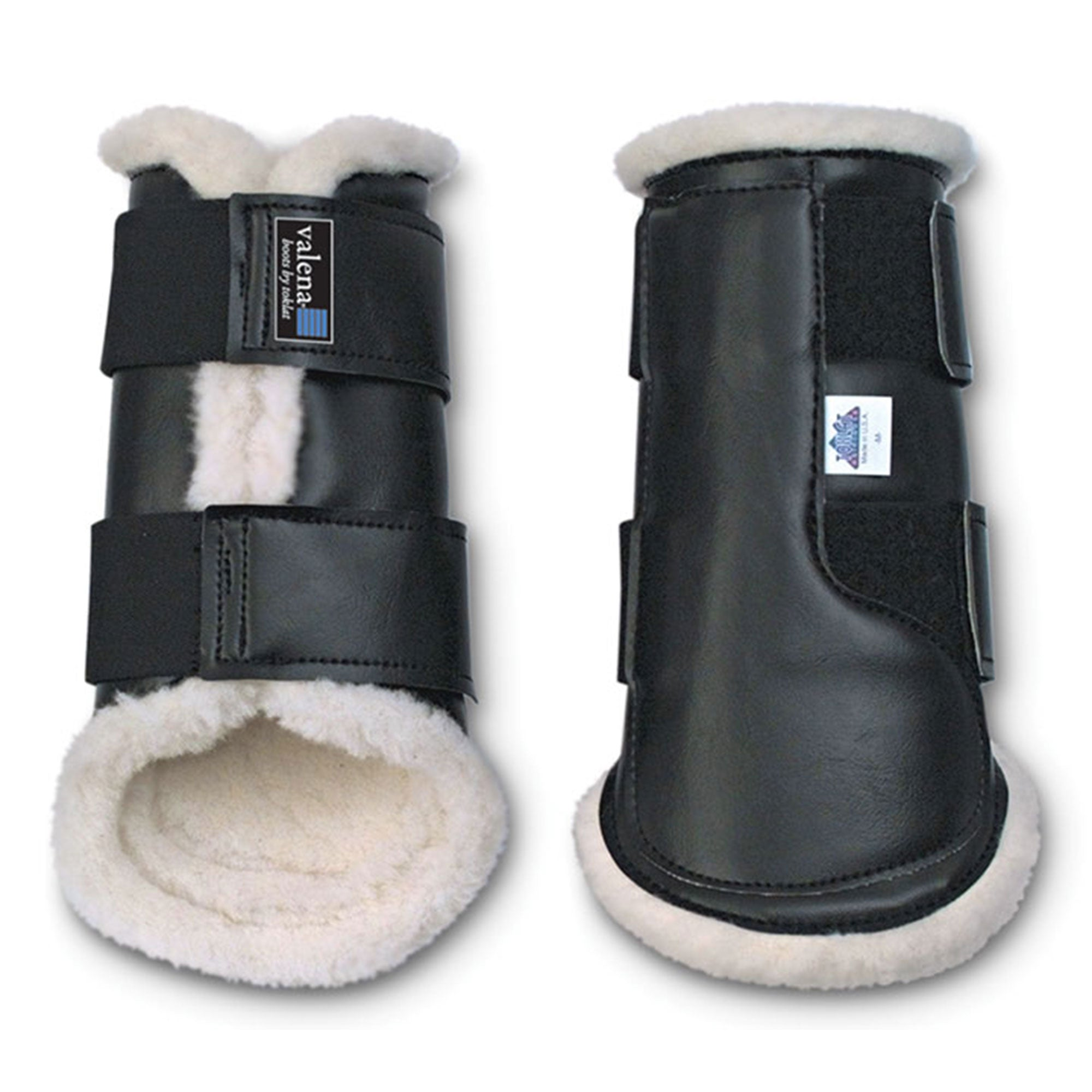 Valena Wool-Lined Protective Hind Boots - North Shore Saddlery