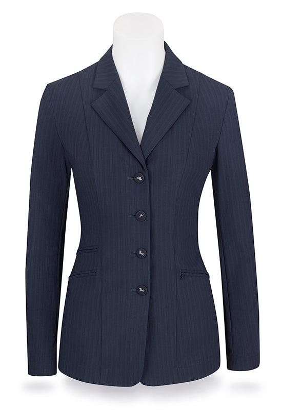 RJ Classics Washington Navy Stripe Soft Shell Show Coat (W8530) - SALE