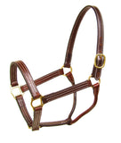 Walsh British Leather Halter - North Shore Saddlery