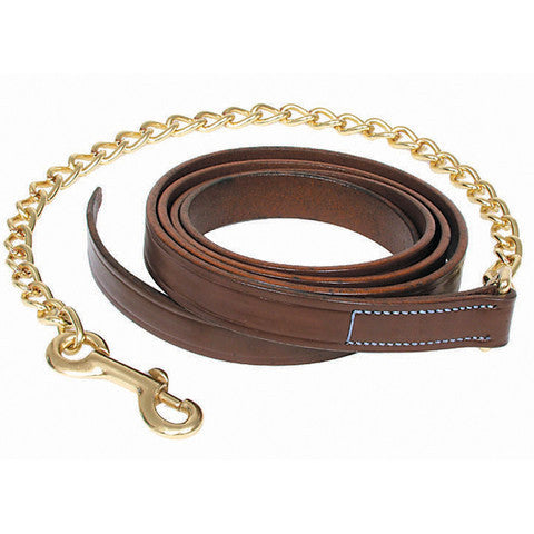 Walsh Leather Lead Shank Solid Brass Chain