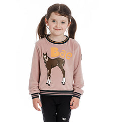 Horseware Kids Velvet Touch Crew Neck - SALE - North Shore Saddlery