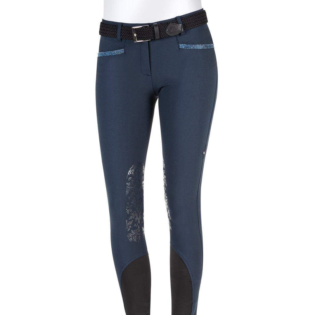 Equiline Gaynor X-Grip Knee Patch Breech - SALE