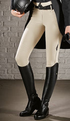 Equiline Ladies Ash X-Grip Knee Breech - North Shore Saddlery