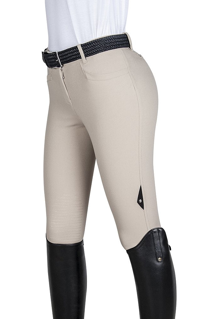 Equiline Ladies Ash X-Grip Knee Patch Breech - North Shore Saddlery
