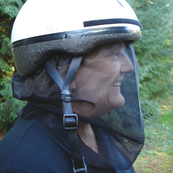 Cashel Quiet Ride Bug Net For Riders - North Shore Saddlery