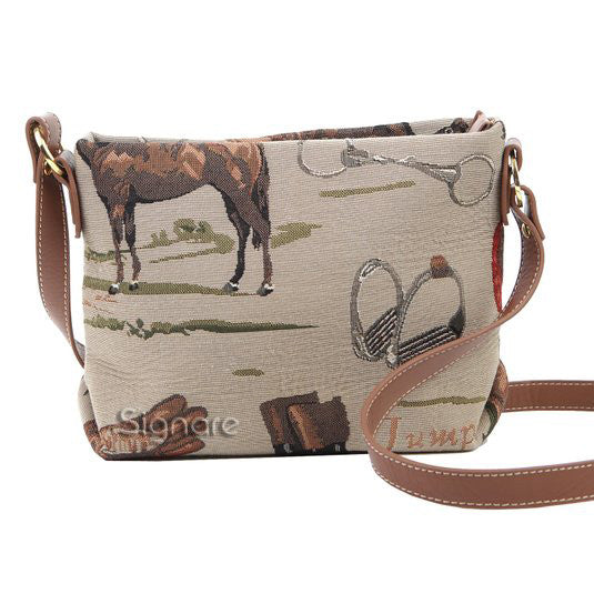 Tapestry Horse Across-body Bag