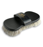 Stubben Flex Leather Back Horsehair Bristle Brush