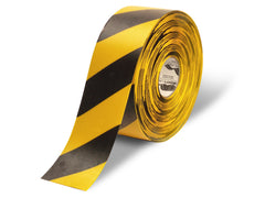 4 Inch Hazard Mighty Line Safety Floor Tape