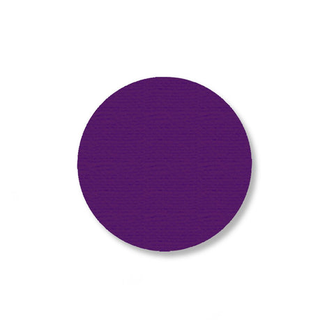 2.7 Purple Solid Floor Tape Dot - Pack Of 100 Product