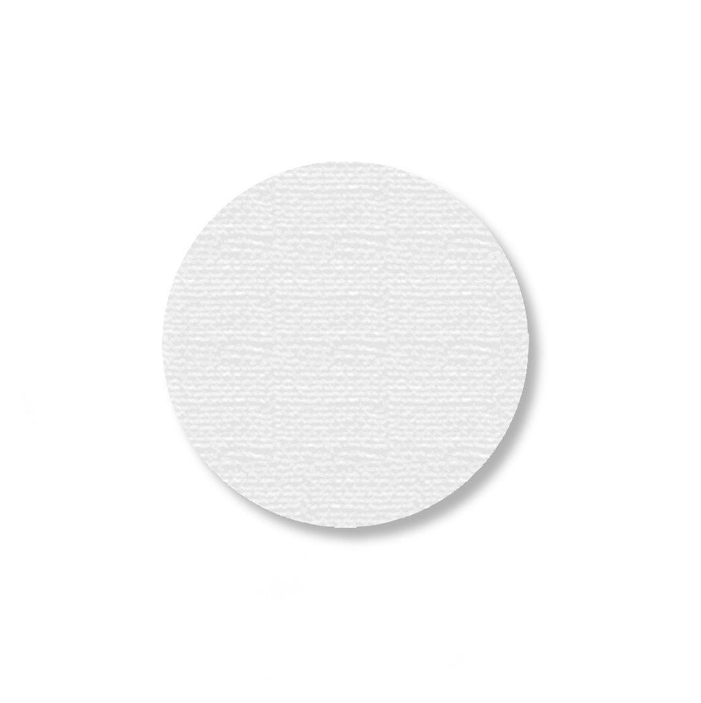 2.7 White Solid Floor Tape Dot - Pack Of 100 Product